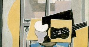 Пабло Пикассо «Натюрморт перед окном с видом на Церковь Святого Августина»