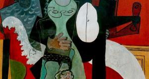 Пабло Пикассо «Влюбленные»