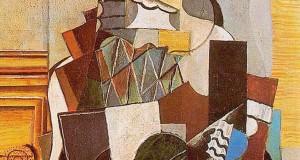 Пабло Пикассо «Арлекин» 1918 г.