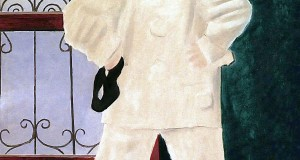 Пабло Пикассо «Поль в костюме Пьеро»