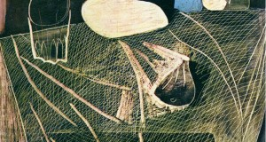 Пабло Пикассо «Натюрморт с рыболовной сетью»