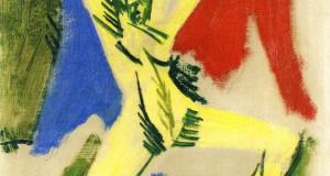 Пабло Пикассо «Обнаженная с драпировкой (этюд)»