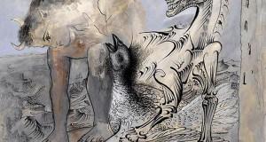 Пабло Пикассо «Фавн, лошадь и птица»