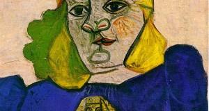 Пабло Пикассо «Женщина с брошью»