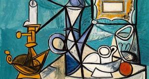 Пабло Пикассо «Натюрморт с лампой»