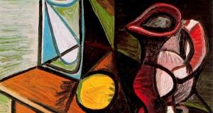 Пабло Пикассо «Бокал и кувшин»