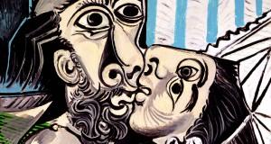 Пабло Пикассо «Поцелуй». Описание картины