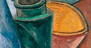 Пабло Пикассо «Кувшин, пиала и лимон»