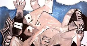 Пабло Пикассо «Объятия» 1972 г.