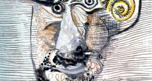 Пабло Пикассо «Бюст мужчины в шляпе»