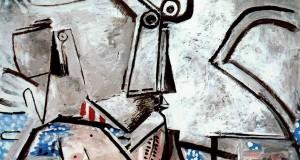 Последняя картина Пабло Пикассо «Лежащая обнаженная и голова»