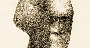 Пабло Пикассо «Автопортрет, 3 июля 1972»