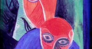 Пабло Пикассо «Мать и дитя» 1907 г.