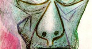 Пабло Пикассо «Автопортрет, 30 июня 1972»