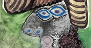 Пабло Пикассо «Голова человека» 1972 г.