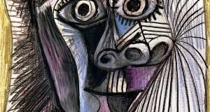 Пабло Пикассо «Голова» 1972 г.