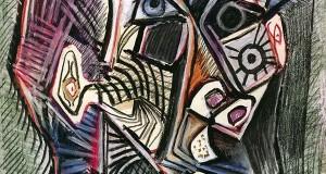 Пабло Пикассо «Автопортрет, 28 июня 1972»