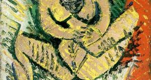Пабло Пикассо «Маленькая сидящая обнаженная»