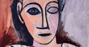 Пабло Пикассо «Бюст человека (Этюд к Авиньонским девицам)»