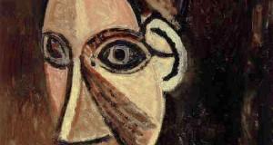 Пабло Пикассо «Голова женщины»