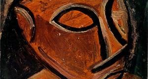 Пабло Пикассо «Голова человека» III
