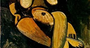 Пабло Пикассо «Лежащая обнаженная»