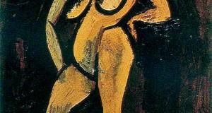 Пабло Пикассо «Стоящая обнаженная»