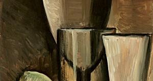Пабло Пикассо «Бокалы и фрукты»