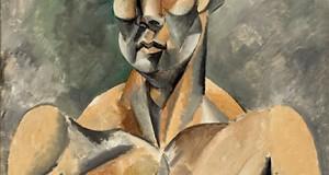 Пабло Пикассо «Бюст человека (Cпортсмен)»