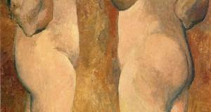 Пабло Пикассо «Две обнаженные»