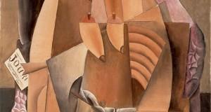 Пабло Пикассо «Женщина в сорочке, сидящая в кресле (Ева)»