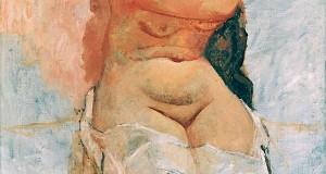 Пабло Пикассо «Женщина, расчесывающая волосы»