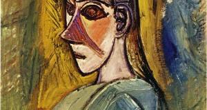 Пабло Пикассо «Бюст молодой женщины из Авиньона»