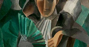 Пабло Пикассо «Дама с веером»