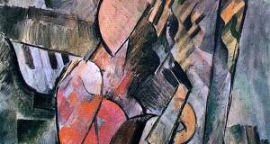 Пабло Пикассо «Женщина с мандолиной»