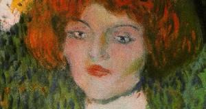 Пабло Пикассо «Голова юной женщины»