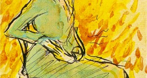 Пабло Пикассо «Сидящая женщина в зеленом»