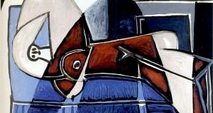 Пабло Пикассо «Тень, падающая на женщину»