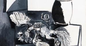 Пабло Пикассо «Мертвый петух и банка»