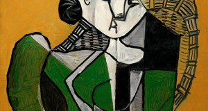 Пабло Пикассо «Женщина, сидящая в кресле»