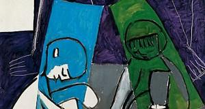 Пабло Пикассо «Женщины и дети, рисование»