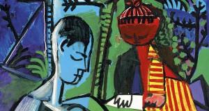 Пабло Пикассо «Рисующие Клод и Палома»