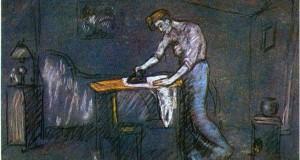 Пабло Пикассо «Гладильная»