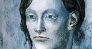Пабло Пикассо «Женщина с забранными наверх волосами»