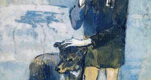 Пабло Пикассо «Мальчик с собакой»
