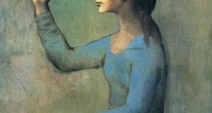 Пабло Пикассо «Женщина с веером»